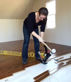 Exceptional Finishing The Room Over Our Garage. Installing Hardwood FloorsGarage  FlooringFlooring ...