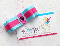 Lil Miss Doo Lolly offers fun, fashionable hair accessories for your own Lil Missy! These Jumbo Tuxedo Hair clippies measure about 3 inches wide.