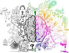 Left and Right Brain Hemispheres Wallpaper