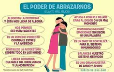 la importancia del abrazo