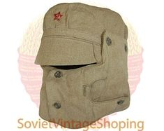 Summer Hats, Winter Hats, Military Fashion, Mens Fashion, Black Overcoat, Steampunk Mask, Tactical Clothing, Tactical Gear, Soviet Army