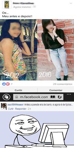 Um antes e depois emocionante! haehuehueu