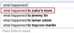 Even Google wants to know! Like seriously! Yet another thing that better be explained in legend of Korra..