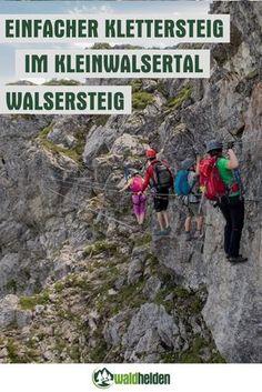 Klettersteig Walsersteig an der Kanzelwand im Kleinwalsertal