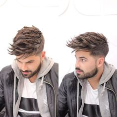 Mens Hairstyles + Cool Haircuts For Men Mens Messy Hairstyles, Mens Hairstyles 2018, Popular Mens Hairstyles, Hairstyles Haircuts, Latest Hairstyles, Fashion Hairstyles, Textured Hairstyles, Latest Haircut, Undercut Hairstyle