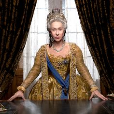 Helen Mirren discovers the true meaning of girl power as she trades her Queen role for Catherine the Great Reign Fashion, Rococo Fashion, Royal Fashion, Period Costumes, Movie Costumes, Dame Helen, 18th Century Clothing, Catherine The Great, Romance