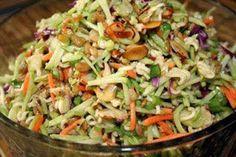 Easy Recipes to Do: Oriental Ramen Broccoli Cole Slaw