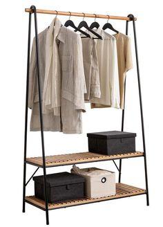 Acacia, Ideas Armario, Hanging Clothes, Iron Furniture, Home Organization Hacks, Diy Bedroom Decor, Home Decor, House Rooms, New Room