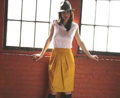 FIFTEEN FREE knee length skirt patterns!!