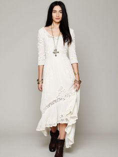 Free People Mexican Wedding Dress, $0.00
