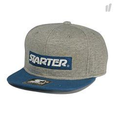 Starter Label Logo Snapback - http://www.overkillshop.com/de/product_info/info/10446/