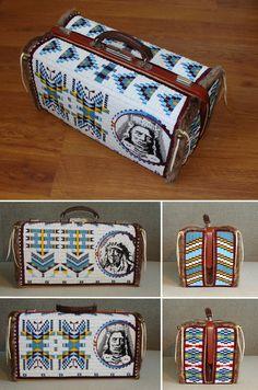 Doctor's bag. Beaded.  Mikhail Vinogradov's works.  https://www.facebook.com/mikhacloud