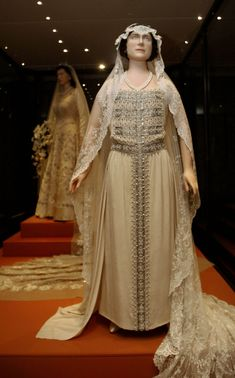 Wedding Dress of Queen Elizabeth (the Queen Mum)