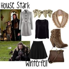 """House Stark"" by evil-laugh on Polyvore"