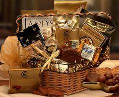 Chocolate Treasure's Gourmet Gift Basket