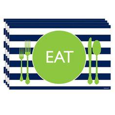 Let's Eat Placemats.