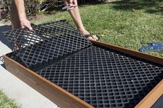 DIY Dog Potty for your patio!