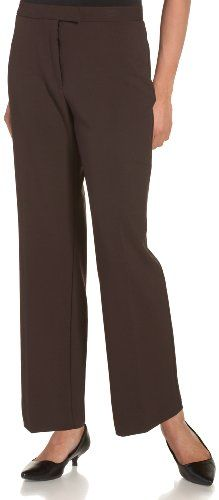 9f9c7169823e Amazon.com  Sag Harbor Women s Petite Slimming Panel Pant  Clothing