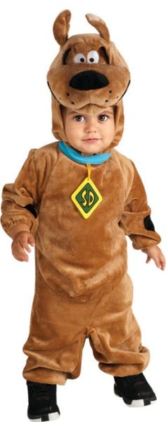 Scooby Doo Boys Toddler /& Kids Child Size Cartoon Dog Plush Jumpsuit Costume