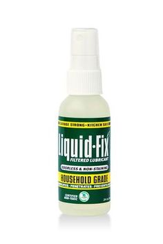 Green Lubricant Certified Household Spray provides a safe way to lubricate just about anything around the house for $3.30