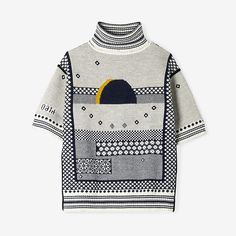 INSTARSIA FOLK KNIT TURTLENECK - Steven Alan