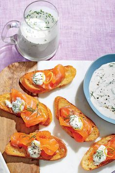 Chef John Hall's Mother's Day Brunch: Cured Salmon with Dill-Horseradish Cream
