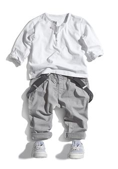 Adorable little boy's outfit.