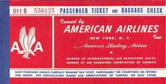 11 April 1934 - American Airways became American Airlines - USA