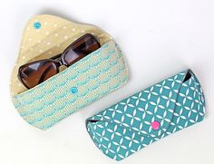 Sewing instructions sew Lotte wallet - My CMS Nia Long, Diy Backpack, Small Sewing Projects, Sewing Kit, Mother Day Gifts, Sunglasses Case, Diy And Crafts, Toms, Backpacks