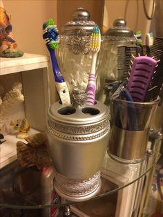Bling toothbrush holder