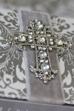 Lovely Rhinestone Cross