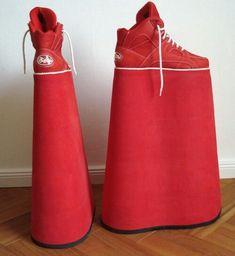 Extreme shoes - high plateau sporty's