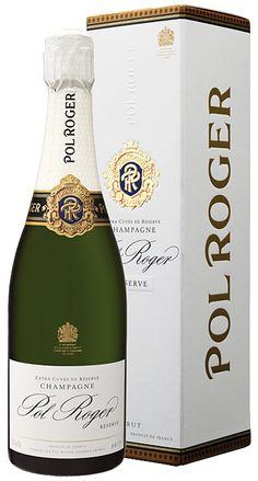 Champagne Pol Roger Brut Réserve v dárkovém boxu