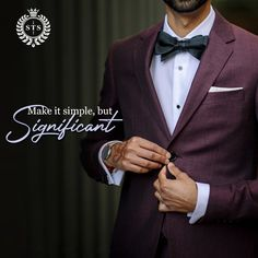 Make it simple but significant! #sanjaytextilestore #stsjaipur #menswear #suits #sherwani #kurta #designersuits #tuxedosuits #blazer #wedding #formal #dresses #groom #tailoring #stylish #ethnicwear #tshirts #jeans #jackets #weddingdress #weddingday #love #fashion #weddings #dress #weddingideas #style Wedding Suits, Wedding Dresses, Sherwani, Tuxedo, Weddingideas, Make It Simple, Groom, How To Make, How To Wear