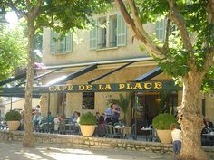 Cafe de la Place - St-Paul de Vence, Provence, France
