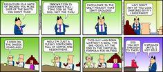 Management speak at its finest via Dilbert