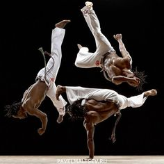 Influence of African Culture in Americas- Capoeira (Martial Arts mixed with African dance)