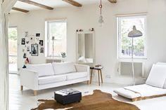 White and airy  http://decor8blog.com/2011/07/21/a-stylish-polish-home/