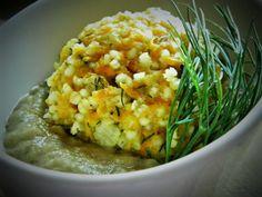 Warzywne klopsiki z sosem paprykowym -gotowane na parze (wege)