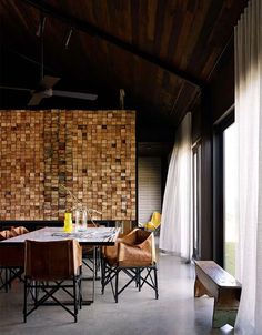 inspired by Australian farm buildings. Wolverdige Architects.