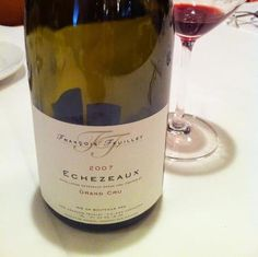 Echezeaux Grand Cru 2007  Very wonderful wine!  There is the peculiar world in Bourgogne wine.