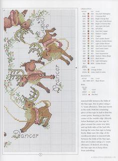 reindeer games mini tree skirt 4/4