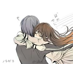 Noragami | Yato x Hiyori | *SCREAMS ALOUD CUZ ITZ SO KAWAII*