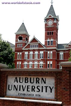 Auburn. Auburn University is one the friendliest college towns.