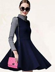 NUO WEI SI ®  Women's Long Sleeve Contrast Color ... – AUD $ 17.28