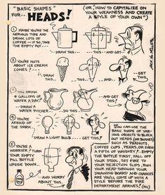 Basic Shapes for Heads Jack N Miller Facebook