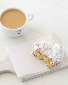 Martha's Beignets | Martha Stewart Living - Louisiana made the beignet their official state doughnut. They're a treat for both breakfast and dessert--just make sure they're served hot and fresh. Martha made this recipe on Martha Bakes episode 602.
