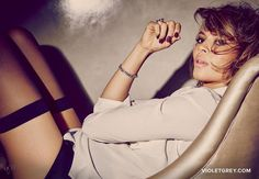 Carmen Ejogo Seduces, Lensed By Guy Aroch For The VioletFiles - 3 Sensual Fashion Editorials | Art Exhibits - Women's Fashion & Lifestyle News From Anne of Carversville