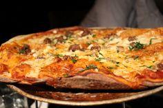 Cotechino Sausage Pizza at Russell House Tavern, Cambridge, MA