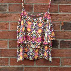 Selling this spaghetti strap blouse. in my Poshmark closet! My username is: haileybracey. #shopmycloset #poshmark #fashion #shopping #style #forsale #Paper Crane #Tops